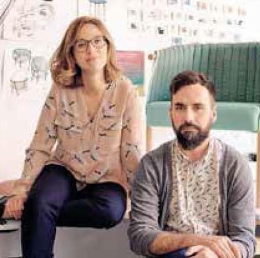 Laxmi Nazabal y Lucas Abajo - Muka Desing Lab